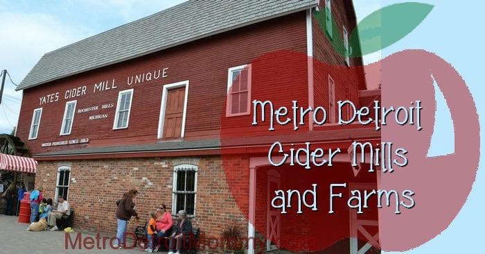 Cider Mills in Metro Detroit
