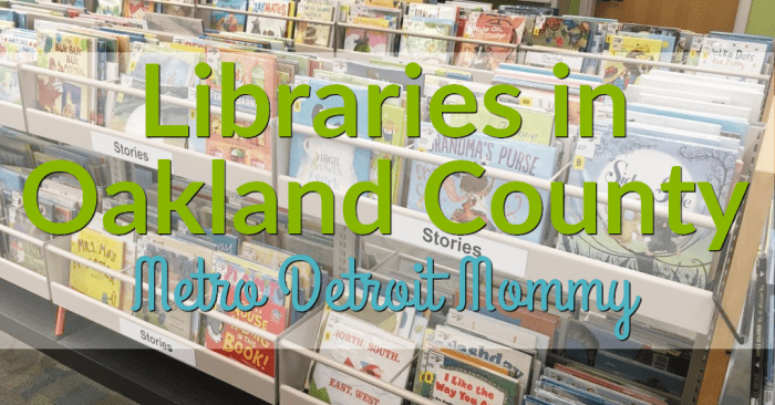 Libraries in Oakland County