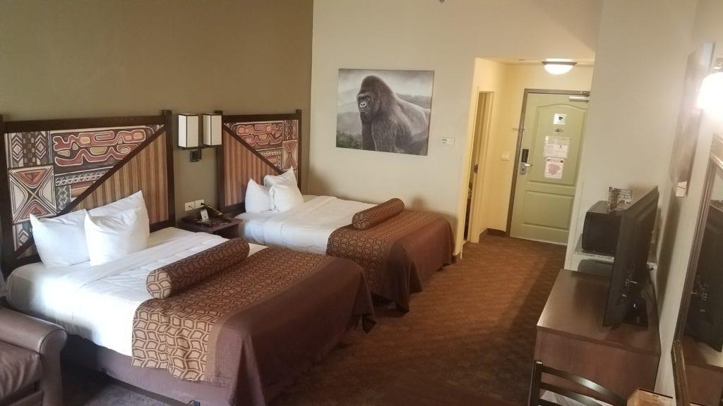 our room at Kalahari Ohio