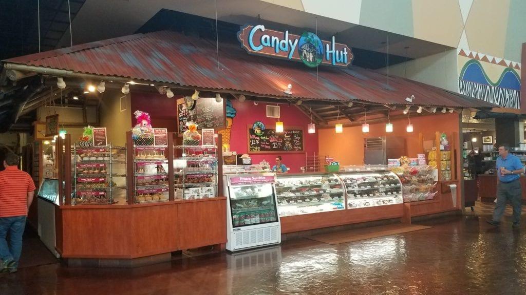 Candy Hut at Kalahari Sandusky