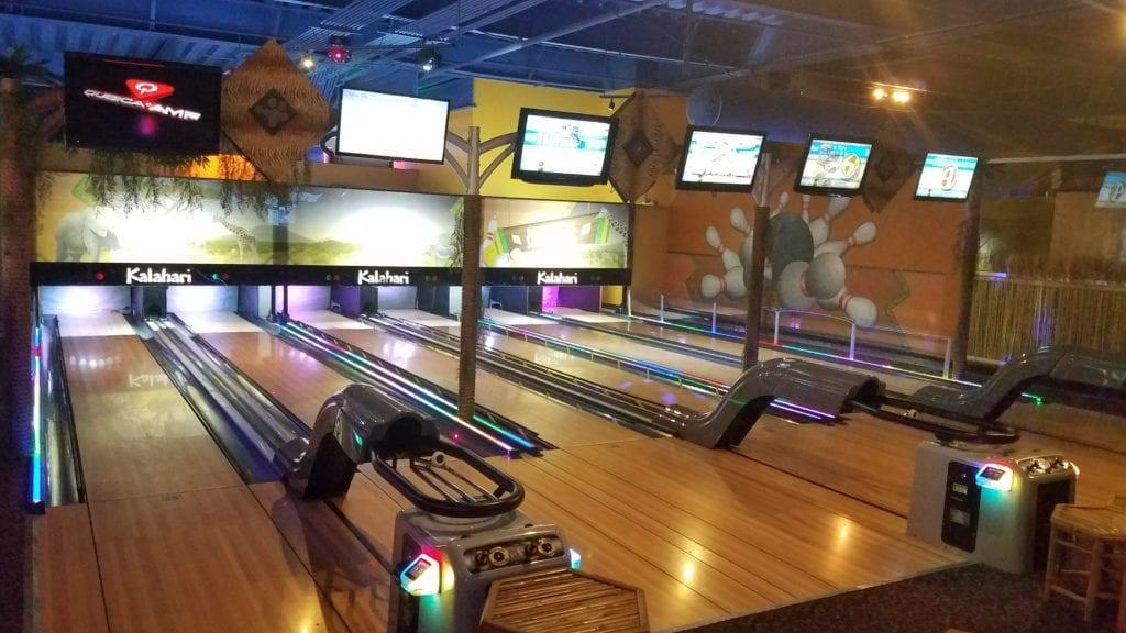 Bowling at Kalahari Ohio