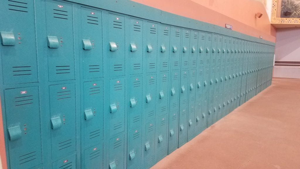 Lockers at Kalahari Ohio