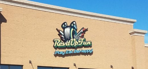 Rev'd Up Fun in Woodhaven is a 30,000 square foot indoor playground that features laser tag, climbing structure, bumper cars, interactive 3D theatre thrill ride, zip-line & agility ropes course, arcade games, and a cafe.