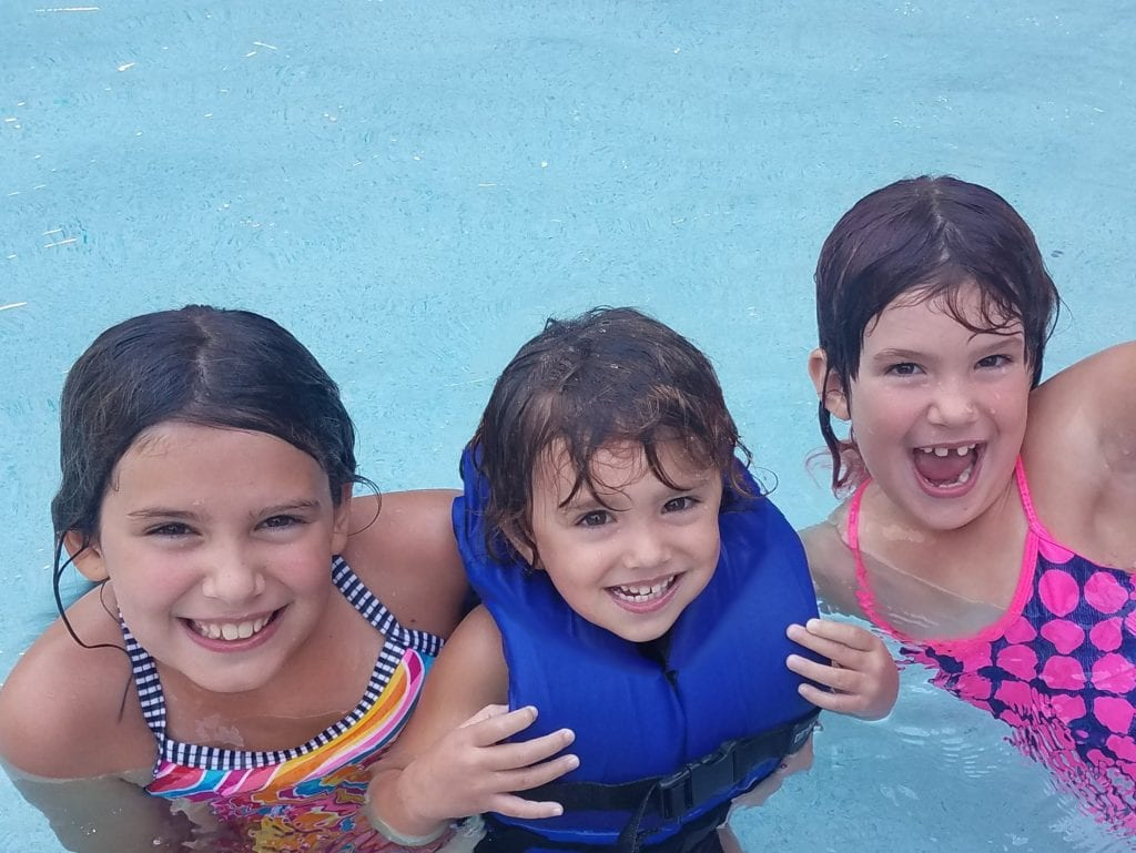 My girls had so much fun at this indoor waterpark.