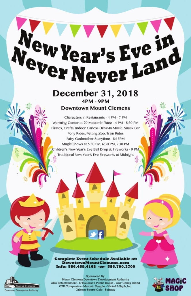 New Year's Eve in Never Never Land ⋆ Metro Detroit Mommy