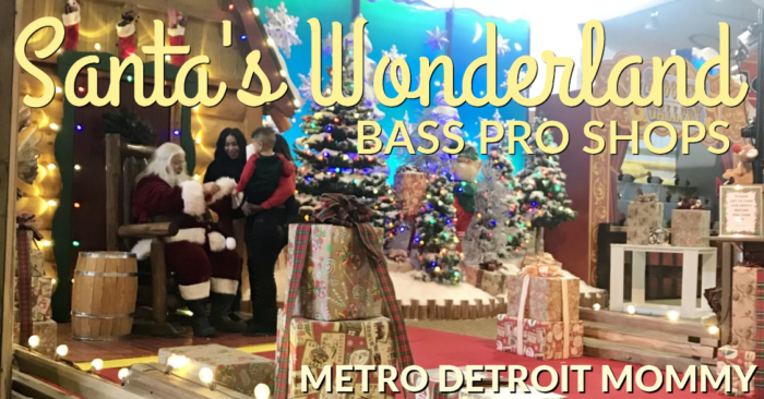 The Magic of the Holidays at Santa's Wonderland Bass Pro Shops