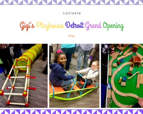 This colorful facility offered lots of fun ways for children to work on their fine and gross motor skills.