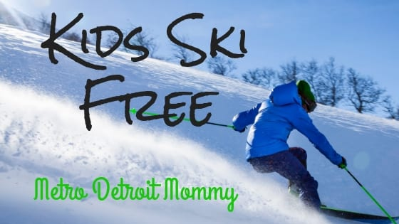 Kids Ski FREE Michigan program!