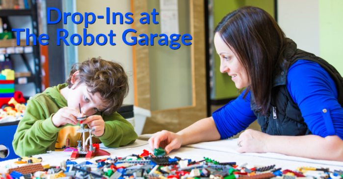 Drop-Ins at The Robot Garage are a Great Way to Beat the Winter Blues