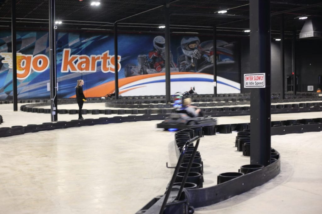 Go Carts at Allegiant Nonstop
