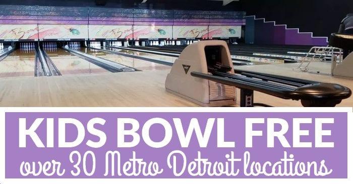 Metro Detroit Kids Bowl Free Locations