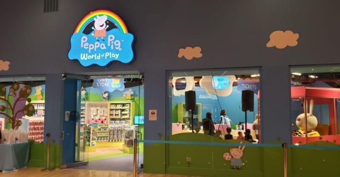 Peppa Pig World of Play Michigan at Great Lakes Crossing Outlets