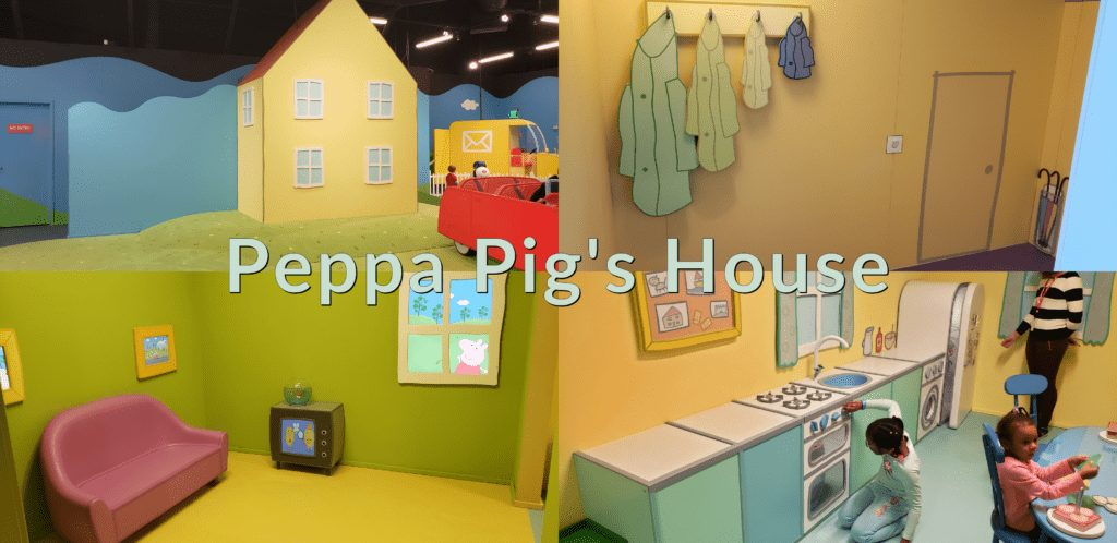 Peppa Pig World of Play Great Lakes Crossing Outlet Peppa Pig's House