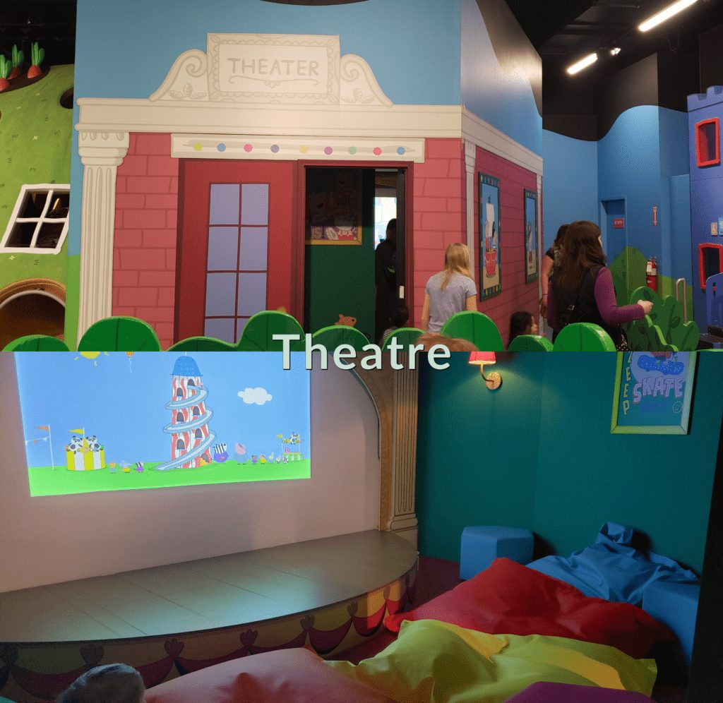 Peppa Pig World of Play Great Lakes Crossing Outlet Theater