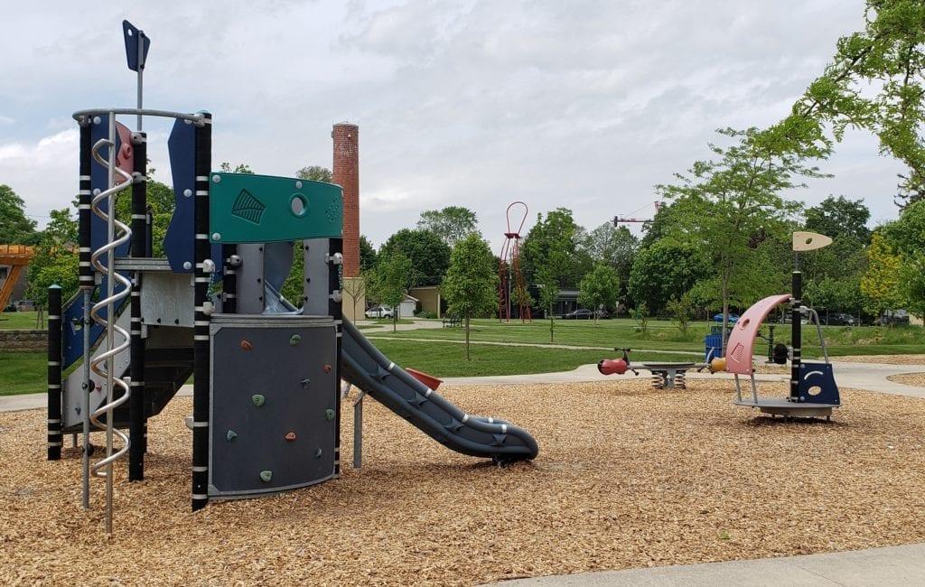 Barnum Park in Birmingham Michigan
