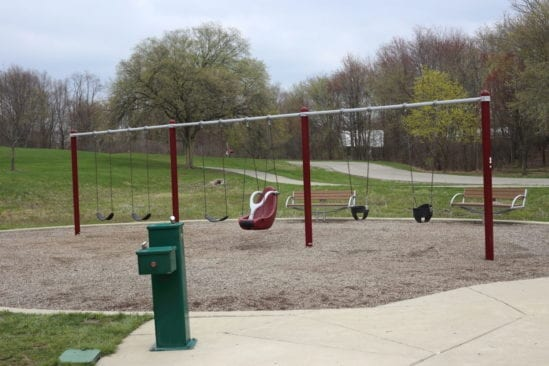 swings at LodgePlayground