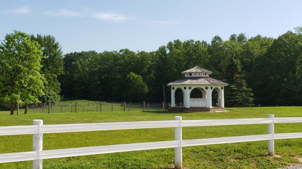 The Petting Farm at Domino Farms Gazebo