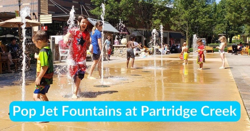 Pop Jet Fountains at Partridge Creek