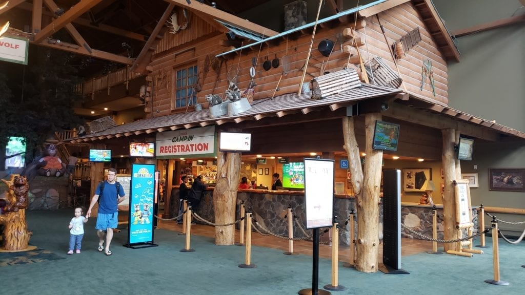 Great Wolf Lodge PA check in