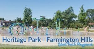 Heritage Park Splash Pad and Playground