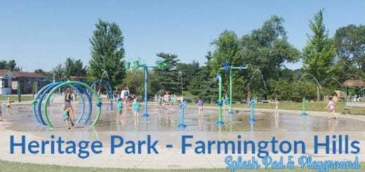 Heritage Park Splash Pad and Playground