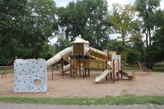 River Woods Park Auburn Hills  Play Structure