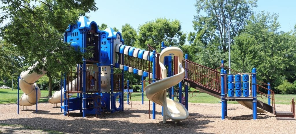 Riverside Park play structure