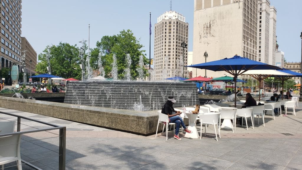 Woodward Fountain