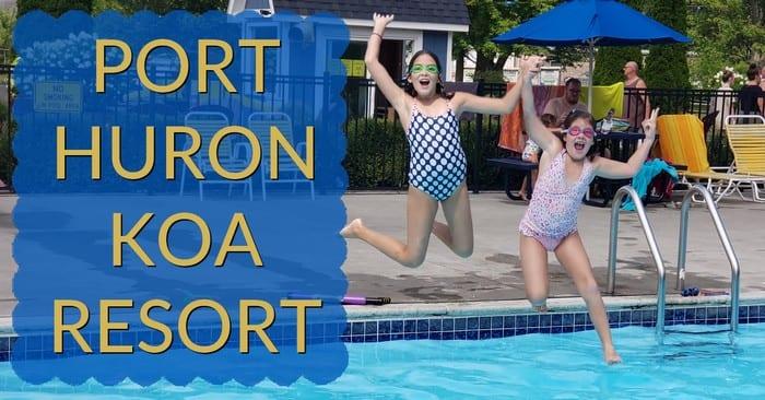 Port Huron KOA – the Perfect Michigan Staycation