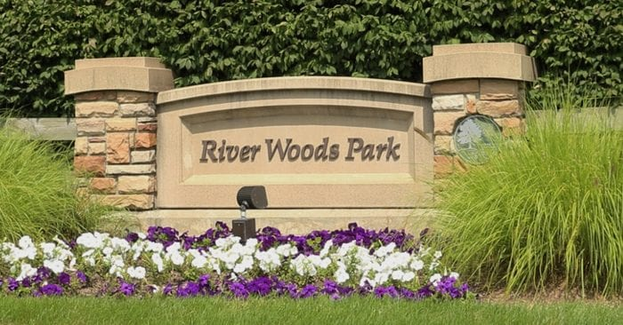River Woods Park in Auburn Hills Visitor's Guide and Photo Gallery