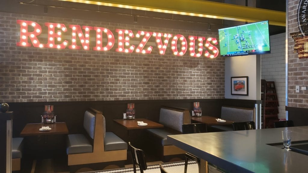 Rendezvous sign at Buddy's