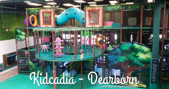 Kidcadia Play Cafe in Dearborn