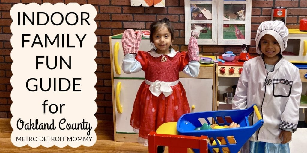 Indoor Playground: Indoor Family Fun Guide for Oakland County