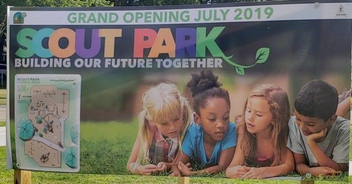 Scout Park in Hazel Park Renovated