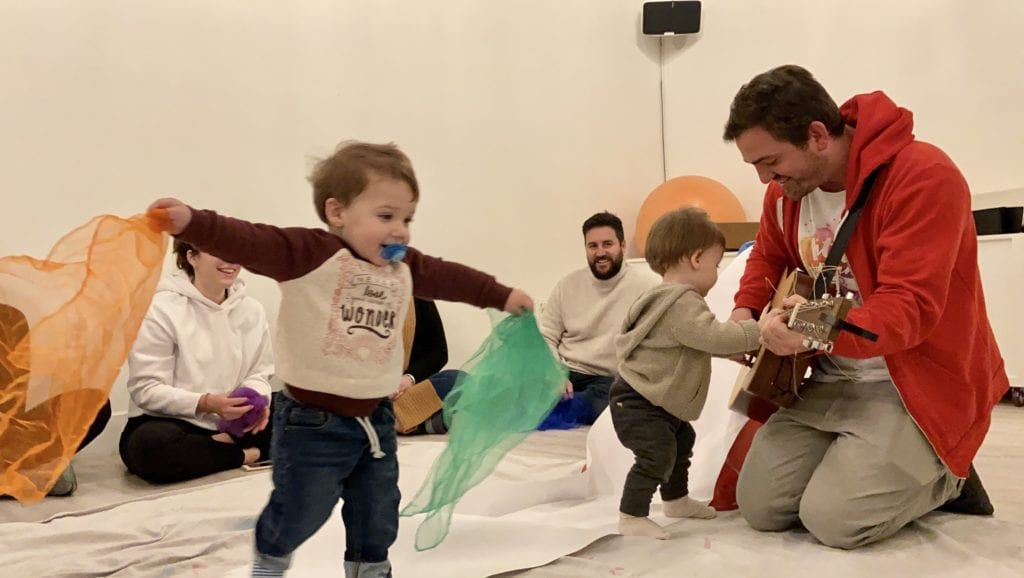 Little Humans Art Co. Music Circle at Honey Space for Moms