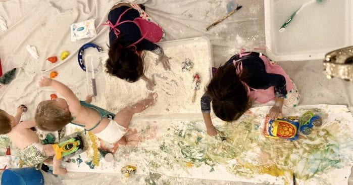 Let's Get Messy with Little Humans Art Co. Process-Based Art