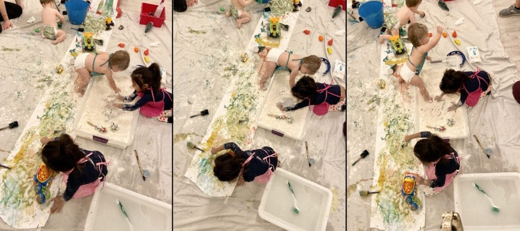 Process-based, child centered art is messy and fun at Little Humans Art Co.