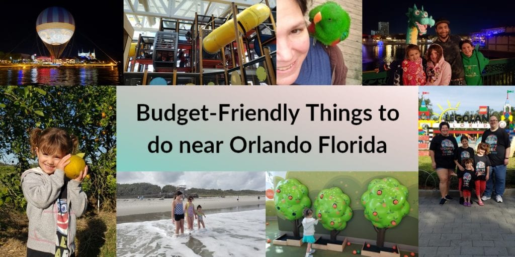 Budget Friendly Things to do near Orlando.