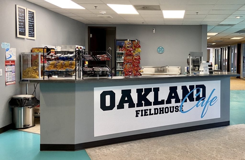 Oakland Fieldhouse Cafe
