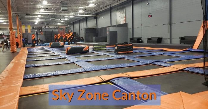 Sky Zone Canton: Visitor's Guide with Photos