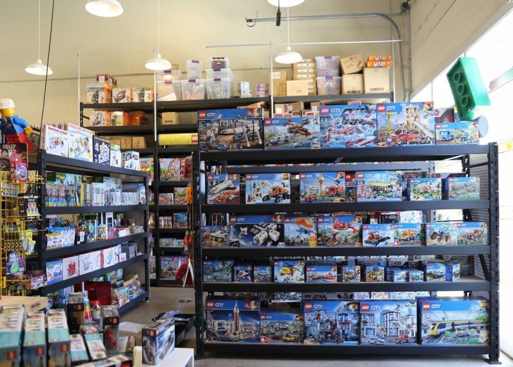Lego Sets at The Robot Garage