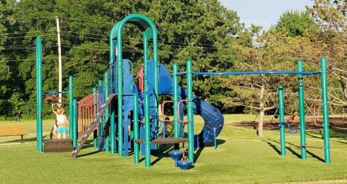 Play Structure at Beaver Trail Park in Troy