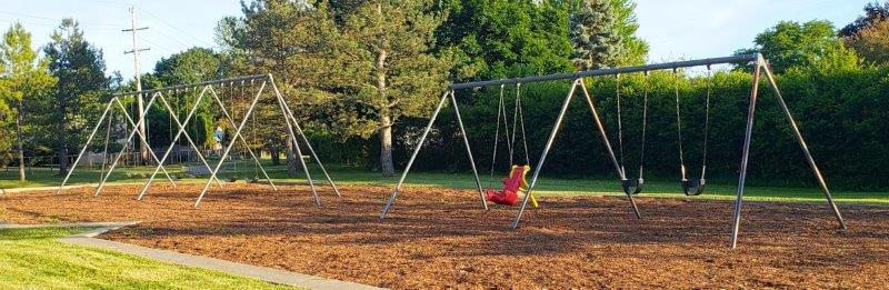 Beaver Trail Park in Troy Swings