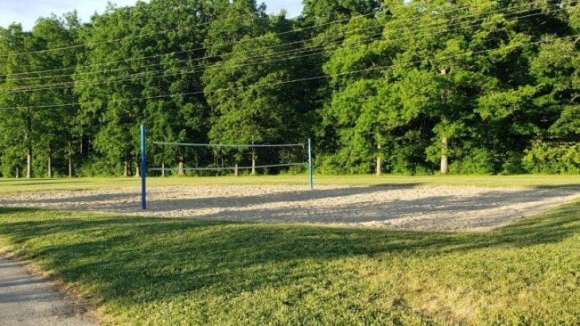 Sand Volleyball at Beaver Trail Park in Troy