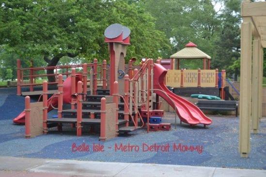 Kids Row Playground on Belle Isle