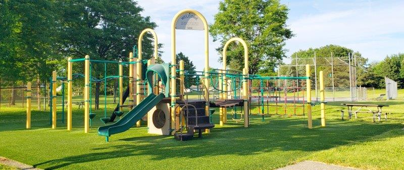 Brinston Park in Troy Play Structure