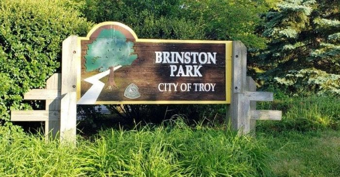 Brinston Park in Troy Visitor's Guide and Photos #oaklandcounty