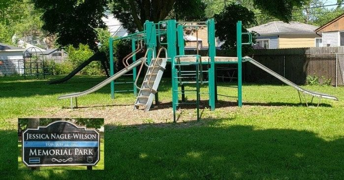Jessica Nagle-Wilson Memorial Park in Hazel Park