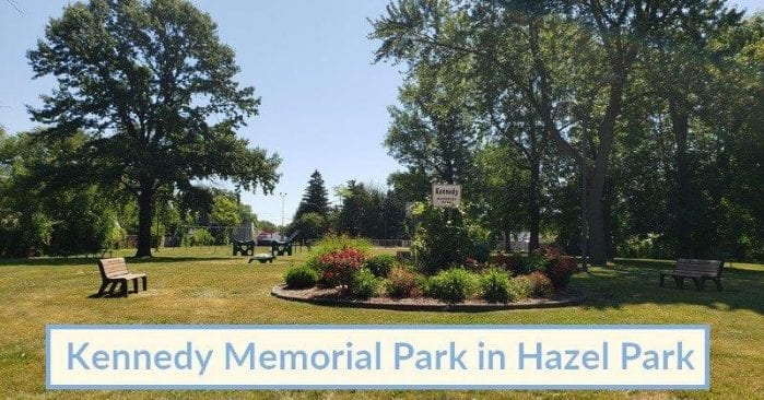 Kennedy Memorial Park in Hazel Park Visitor's Guide and Photos