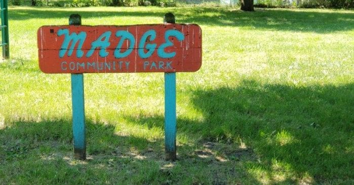 Madge Park in Hazel Park Visitor's Guide and Photos